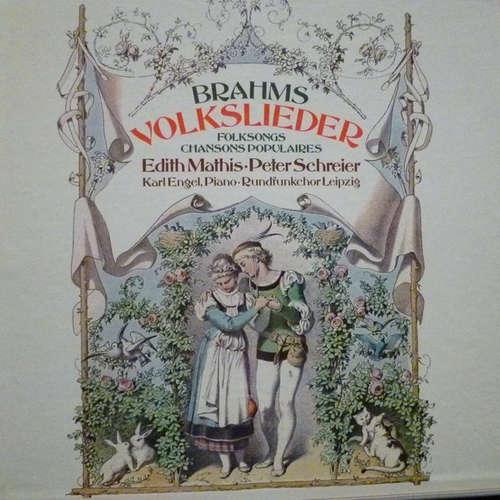 Bild Edith Mathis, Peter Schreier - Johannes Brahms Volkslieder (3xLP + Box) Schallplatten Ankauf