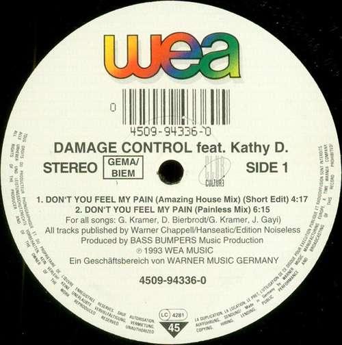 Bild Damage Control feat. Kathy D. - Don't You Feel My Pain (12) Schallplatten Ankauf