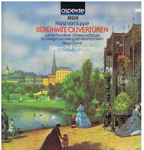 Bild Franz von Suppé, Wiener Philharmoniker, Solti* - Berühmte Ouvertüren (LP) Schallplatten Ankauf