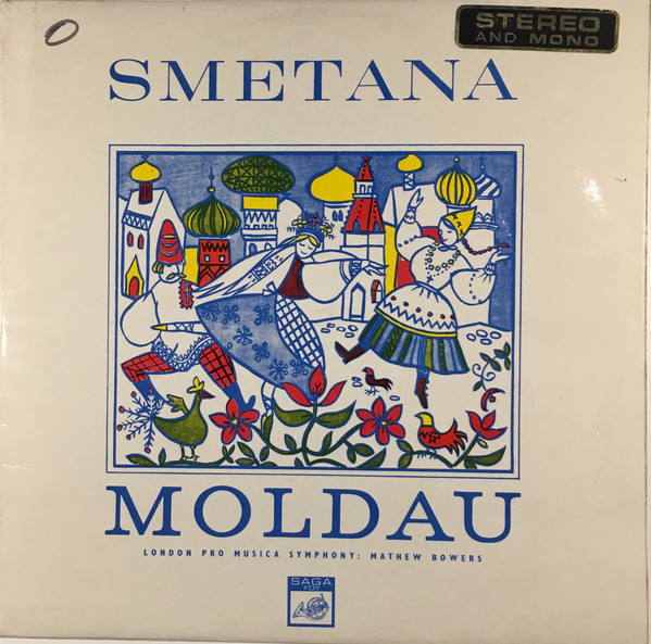 Bild Smetana*, London Pro Musica Symphony*, Mathew Bowers - Moldau (LP) Schallplatten Ankauf