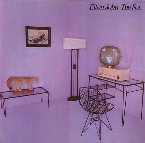 Cover zu Elton John - The Fox (LP, Album) Schallplatten Ankauf