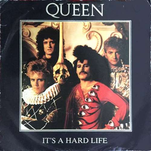 Cover Queen - It's A Hard Life (7, Single) Schallplatten Ankauf