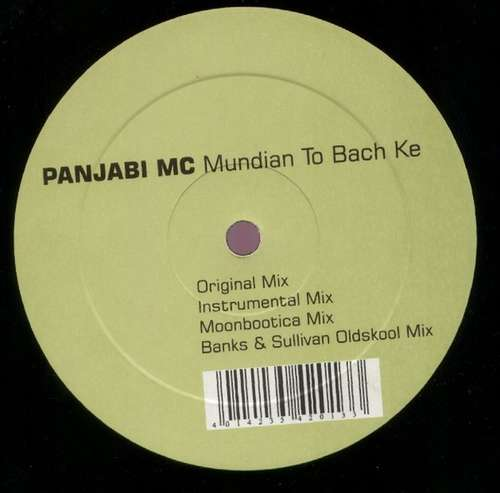 Cover Panjabi MC - Mundian To Bach Ke (12) Schallplatten Ankauf