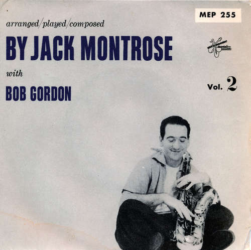 Bild Jack Montrose With  Bob Gordon (2) - Arranged / Played / Composed By Jack Montrose With Bob Gordon Vol. 2 (7, EP) Schallplatten Ankauf