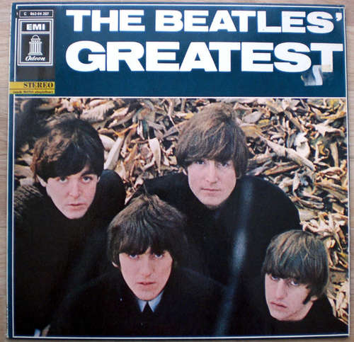 Cover zu The Beatles - The Beatles' Greatest (LP, Comp, RE) Schallplatten Ankauf