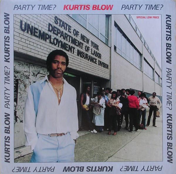 Bild Kurtis Blow - Party Time? (LP, Album) Schallplatten Ankauf