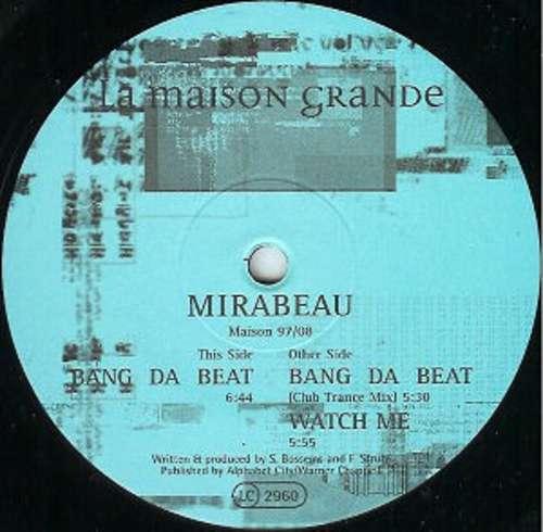 Bild Mirabeau - Bang Da Beat (12) Schallplatten Ankauf
