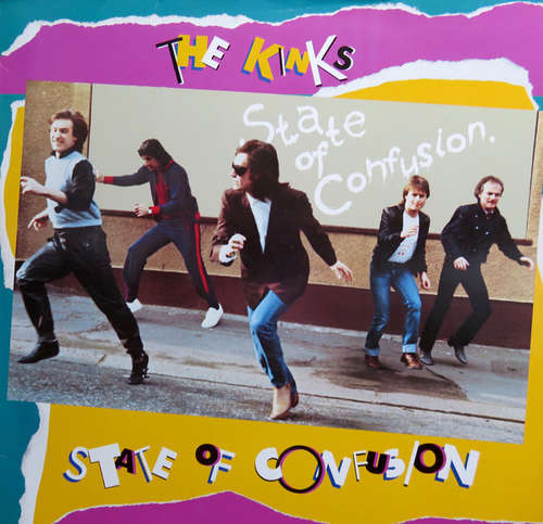Cover The Kinks - State Of Confusion (LP, Album, RE) Schallplatten Ankauf