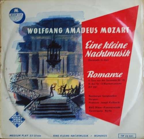 Bild Wolfgang Amadeus Mozart, Joseph Keilberth, Bamberger Symphoniker, RIAS Bläser-Kammermusik-Vereinigung, Berlin - Eine Kleine Nachtmusik - Romanze (10, Album) Schallplatten Ankauf