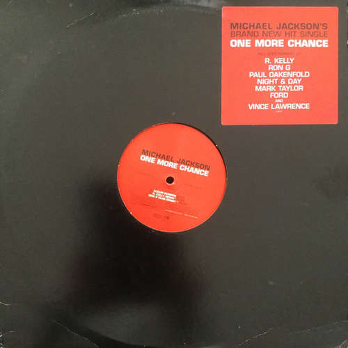 Cover Michael Jackson - One More Chance (2x12, Promo) Schallplatten Ankauf