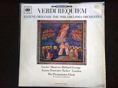 Bild Verdi*, The Philadelphia Orchestra, The Westminster Choir*, Eugene Ormandy, Dr. George Lynn - Verdi Requiem (2xLP) Schallplatten Ankauf