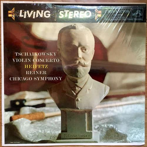 Cover zu Tschaikowsky*, Heifetz*, Reiner*, Chicago Symphony* - Violin Concerto (LP, RE) Schallplatten Ankauf