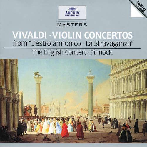 Bild Antonio Vivaldi – The English Concert*, Pinnock* - Violin Concertos (From L'Estro Armonico · La Stravaganza) (CD, Comp, RM) Schallplatten Ankauf
