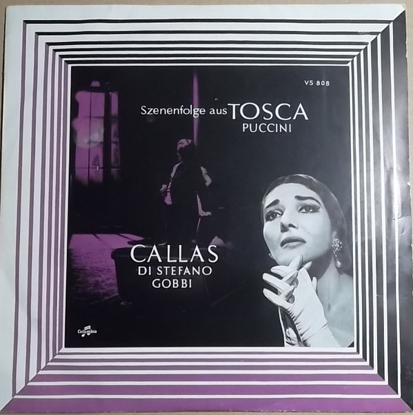 Cover zu Maria Callas, Giuseppe di Stefano, Tito Gobbi - Giacomo Puccini: Szenenfolge Aus Tosca (10) Schallplatten Ankauf