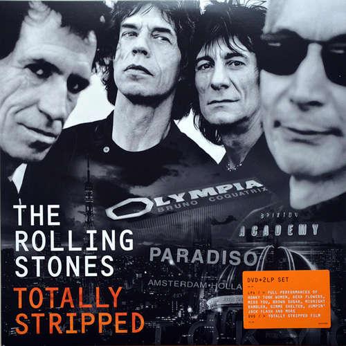 Cover The Rolling Stones - Totally Stripped (2xLP, Album, Gat + DVD-V, Multichannel, NTSC) Schallplatten Ankauf