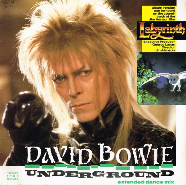 Cover David Bowie - Underground (Extended Dance Mix) (12, Single) Schallplatten Ankauf