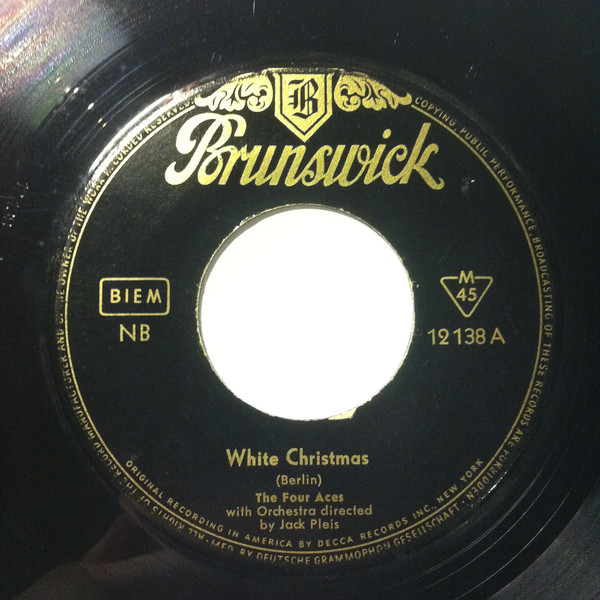 Bild The Four Aces - White Christmas (7, Single, Mono) Schallplatten Ankauf