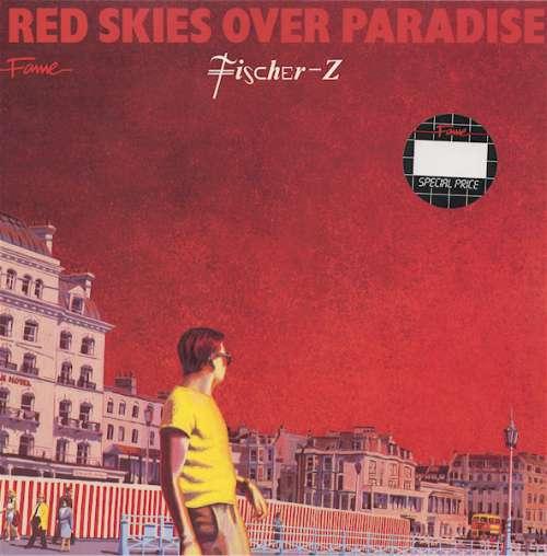 Cover Fischer-Z - Red Skies Over Paradise (LP, Album, RE) Schallplatten Ankauf
