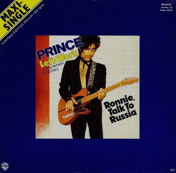 Cover Prince - Let's Work (Long Version) (12, Maxi, Ltd) Schallplatten Ankauf
