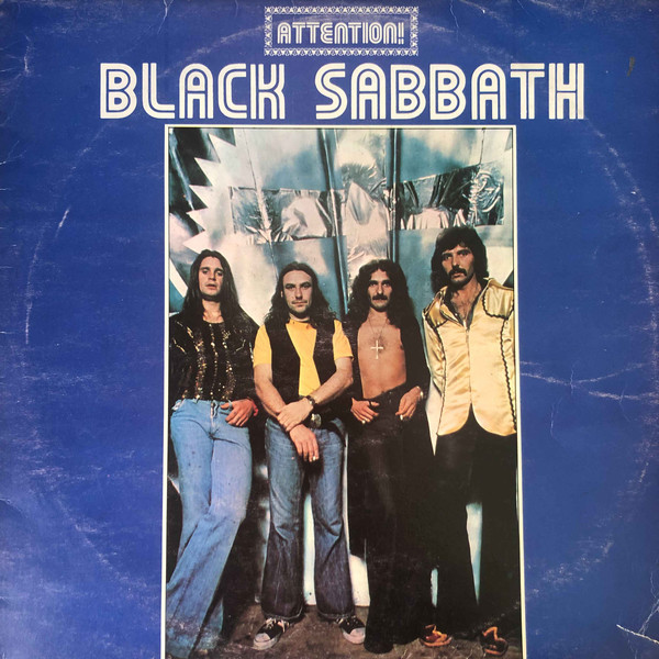Cover zu Black Sabbath - Attention! Black Sabbath Volume Two (LP, Comp, RP) Schallplatten Ankauf