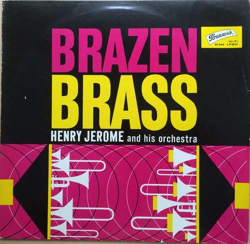 Cover zu Henry Jerome And His Orchestra - Brazen Brass Plays Songs Everybody Knows (LP, Album, Mono) Schallplatten Ankauf