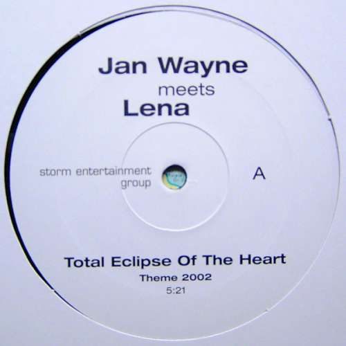 Bild Jan Wayne Meets Lena (2) - Total Eclipse Of The Heart (12) Schallplatten Ankauf
