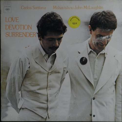 Bild Carlos Santana & Mahavishnu John McLaughlin* - Love Devotion Surrender (LP, Album, Gat) Schallplatten Ankauf