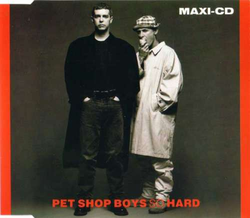 Cover Pet Shop Boys - So Hard (CD, Maxi) Schallplatten Ankauf