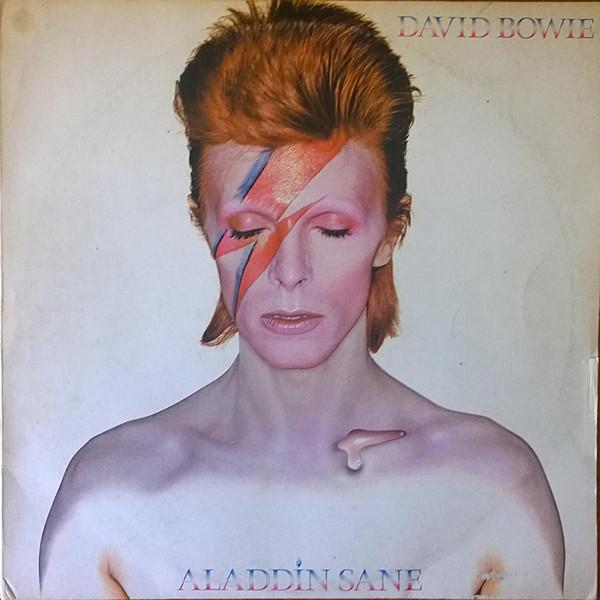 Cover David Bowie - Aladdin Sane (LP, Album) Schallplatten Ankauf