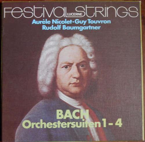 Bild Johann Sebastian Bach, Festival Strings Lucerne - Bach Orchestersuiten 1-4 / Festival Lucerne Strings (2xLP, Box) Schallplatten Ankauf