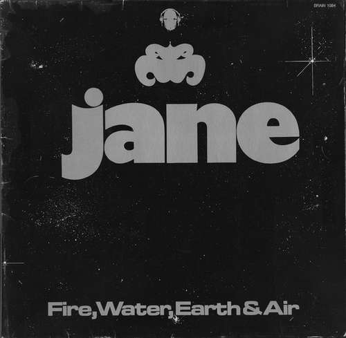 Cover Jane - Fire, Water, Earth & Air (LP, Album, RE) Schallplatten Ankauf