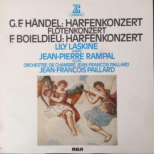 Bild Georg Friedrich Händel, François-Adrien Boieldieu - G.F.Händel:Harfenkonzert , Flötenkonzert. F,Boieldieu : Harfenkonzert (LP) Schallplatten Ankauf