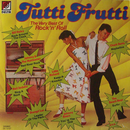 Cover Various - Tutti Frutti - The Very Best Of Rock'n' Roll (LP, Comp) Schallplatten Ankauf