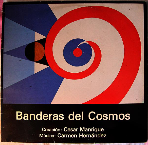 Cover Carmen Hernández - Banderas Del Cosmos (LP) Schallplatten Ankauf