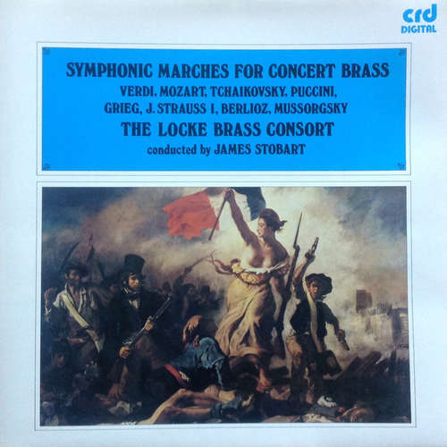 Cover zu Locke Brass Consort, James Stobart - Symphonic Marches For Concert Brass (LP) Schallplatten Ankauf