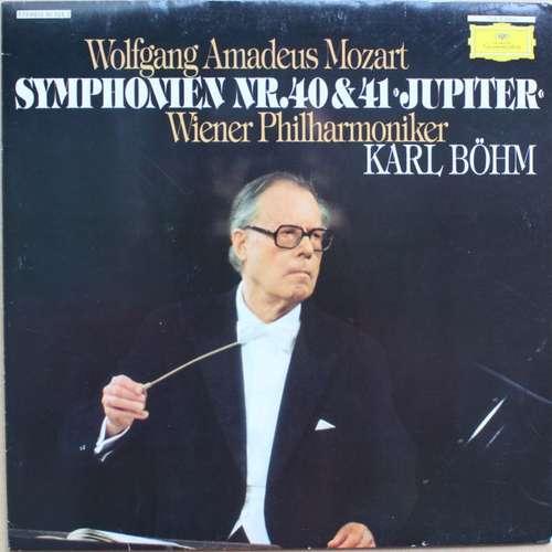 Bild Wolfgang Amadeus Mozart - Wiener Philharmoniker, Karl Böhm - Symphonien Nr. 40 & 41 Jupiter (LP, Club) Schallplatten Ankauf