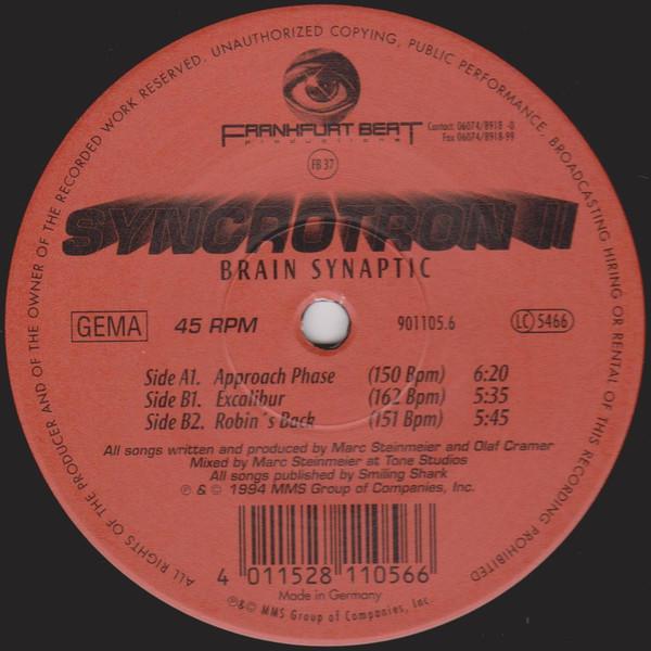 Cover Syncrotron II* - Brain Synaptic (12) Schallplatten Ankauf