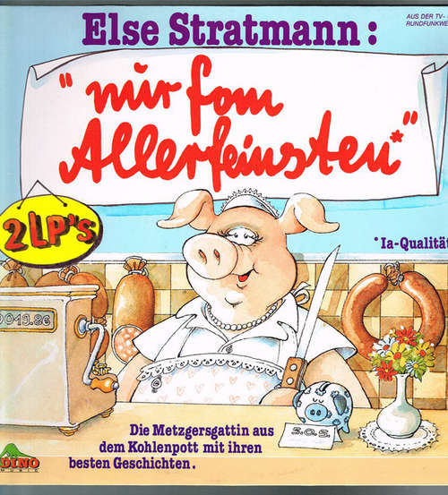 Cover zu Elke Heidenreich - Else Stratmann: Nur Fom Allerfeinsten (2xLP, Comp) Schallplatten Ankauf
