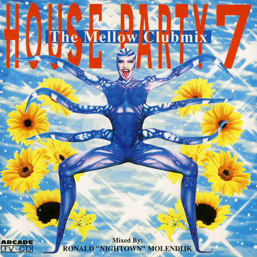 Cover Various - House Party 7 - The Mellow Clubmix (CD, Mixed) Schallplatten Ankauf