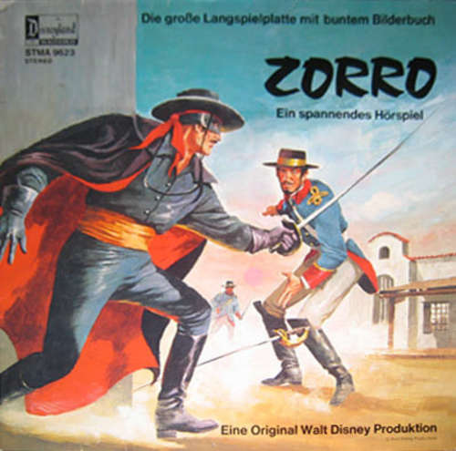 Bild Steve Frazer - Zorro (LP, Album) Schallplatten Ankauf