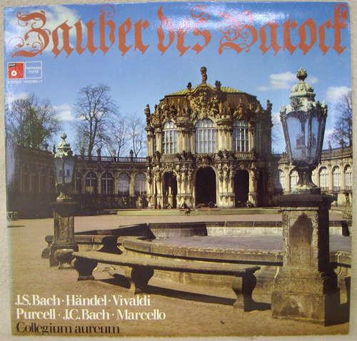 Cover zu J.S.Bach*, Händel*, Vivaldi*, Purcell*, J.C.Bach*, Marcello*, Collegium Aureum - Zauber des Barock (LP) Schallplatten Ankauf