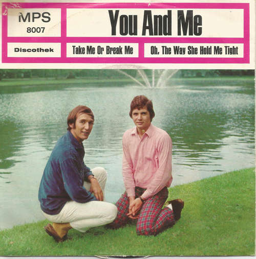 Cover You And Me (2) - Take Me Or Break Me / Oh, The Way She Hold Me Tight (7, Single) Schallplatten Ankauf