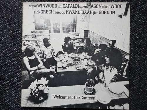 Bild Steve Winwood, Jim Capaldi, Dave Mason, Chris Wood (2), Rick Grech, 'Reebop' Kwaku Baah*, Jim Gordon - Welcome To The Canteen (LP, Album, RE) Schallplatten Ankauf
