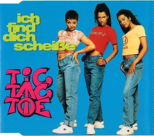 Cover Tic Tac Toe (2) - Ich Find' Dich Scheiße (CD, Maxi) Schallplatten Ankauf