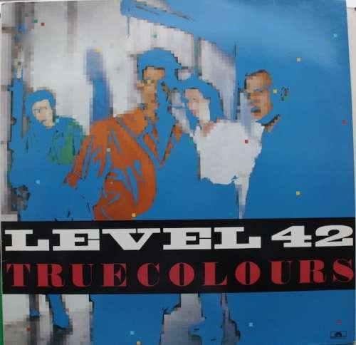 Cover Level 42 - True Colours (LP, Album) Schallplatten Ankauf