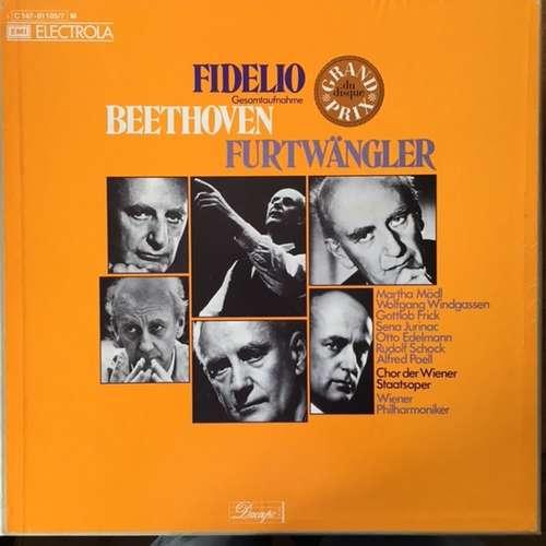 Bild Beethoven*, Wilhelm Furtwängler, Mödl* · Jurinac* · Windgassen* · Edelmann* · Frick* · Schock* - Fidelio (3xLP + Box, Album) Schallplatten Ankauf
