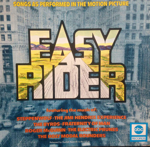 Bild Various - Easy Rider (Songs As Performed In The Motion Picture) (LP, Comp, RE, Bla) Schallplatten Ankauf