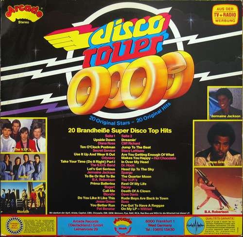 Cover Various - Disco Roller (LP, Comp) Schallplatten Ankauf