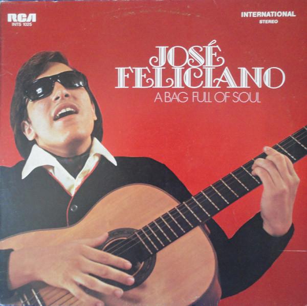 Cover José Feliciano - A Bag Full Of Soul (LP, Album, RE) Schallplatten Ankauf
