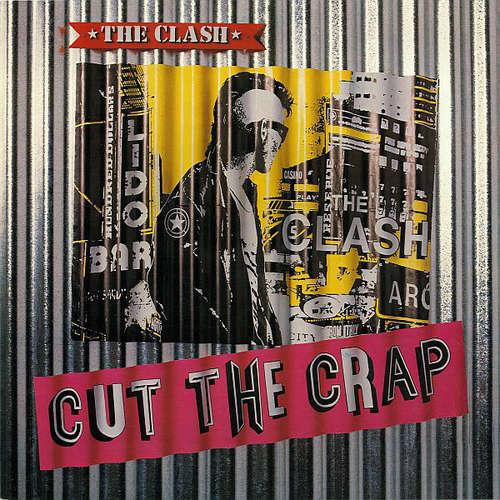 Cover The Clash - Cut The Crap (LP, Album) Schallplatten Ankauf
